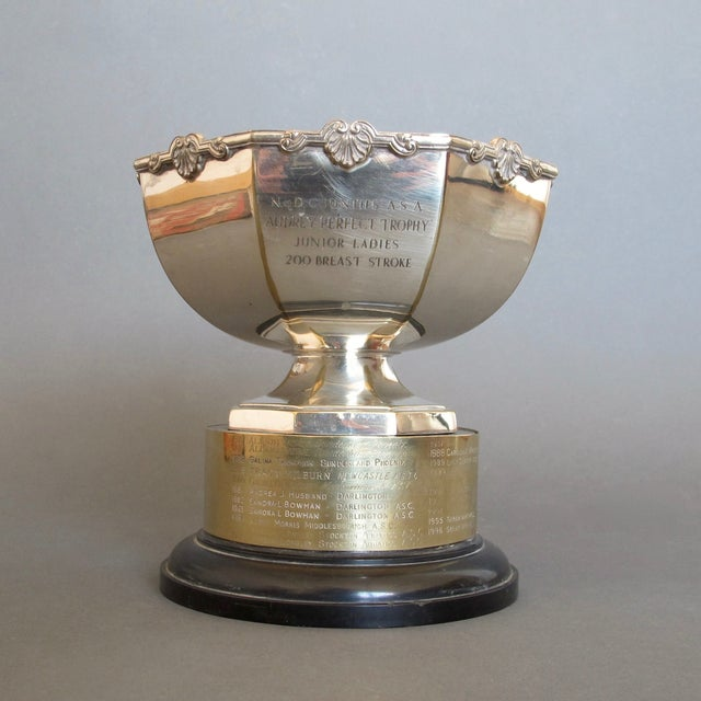 1970's Swimming Rose Bowl Trophy - Image 2 of 8