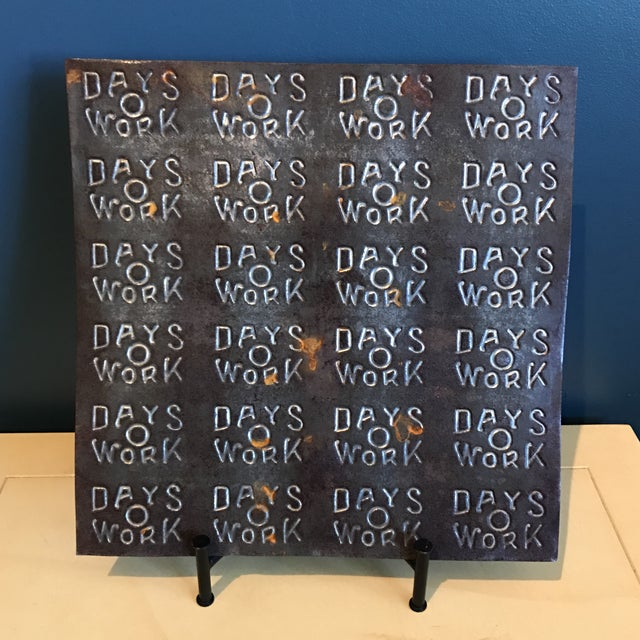 """""""Days O Work"""" Tobacco Tin Sheet - Image 3 of 6"""