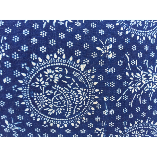Indigo Batik Pillows- A Pair - Image 5 of 6