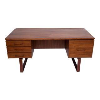 Brazilian Rosewood Desk by Henning Jensen and Torben Valeur