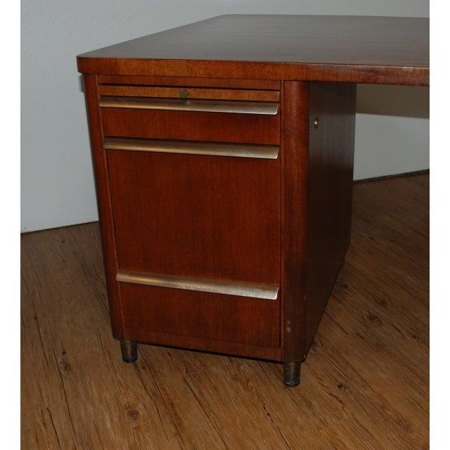 Mid Century Stow Amp Davis Executive Desk Chairish