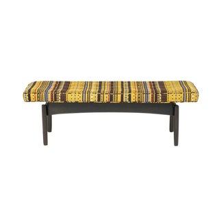 Vintage Jens Risom-style Bench