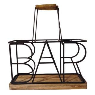 3-Bottle Bar Wine Caddy