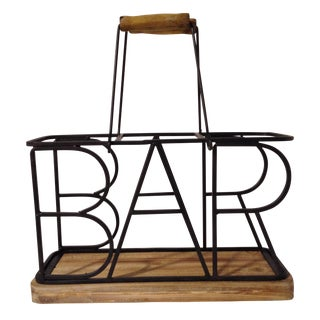 3-Bottle Bar Wine Caddy