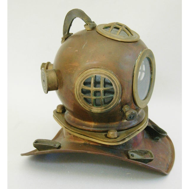1960's Nautical Brass Diving Helmet - Image 3 of 9