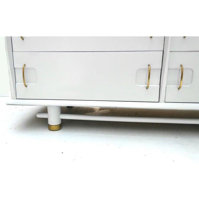 Kent Coffey Mid Century Dresser and Mirror - Image 6 of 10