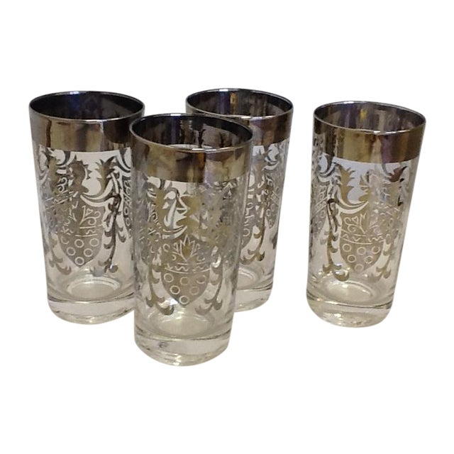 Vintage Kimiko Highball Glasses - Set of 4 - Image 1 of 4