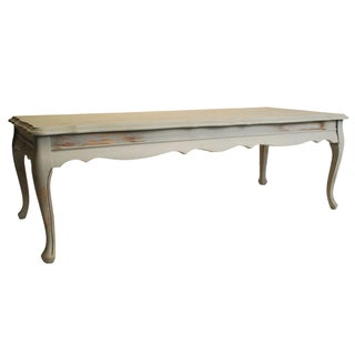 Shabby Chic Wood Coffee Table