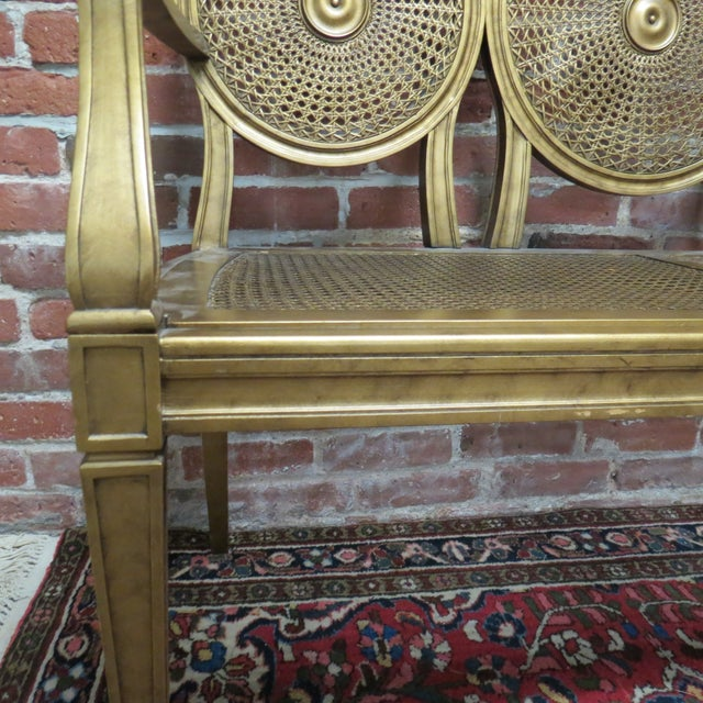 Vintage Gold Bench by Silver Back - Image 5 of 6