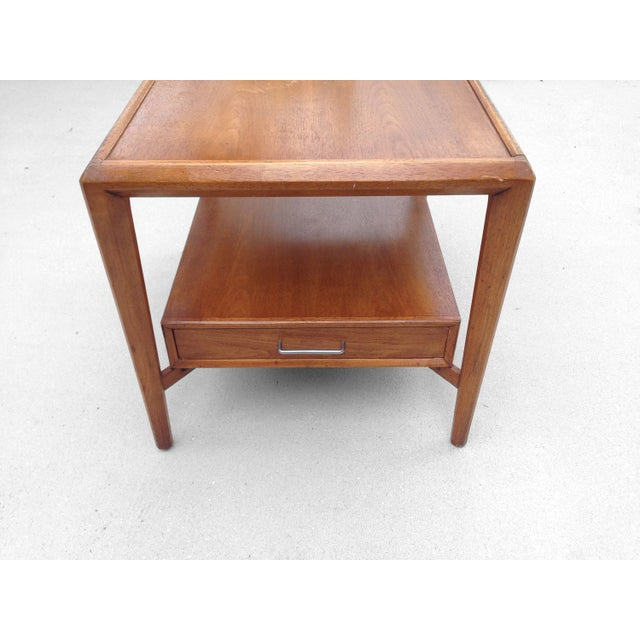 Drexel Heritage Floating Side Table Chairish