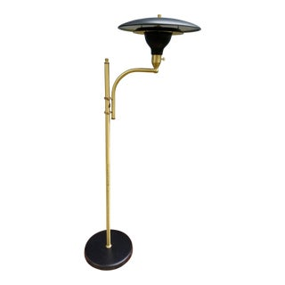 Modern M.G. Wheeler Floor Lamp