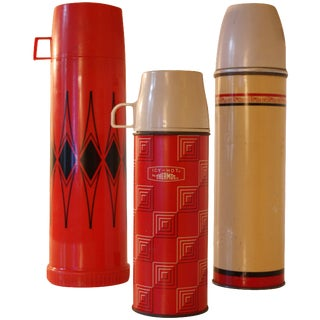 Vintage Thermos Collection - Set of 3