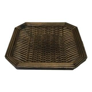 Mid-Century Basket Tray