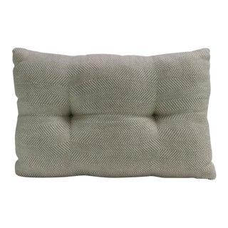 Beige Zig Zag Handloom Pillow