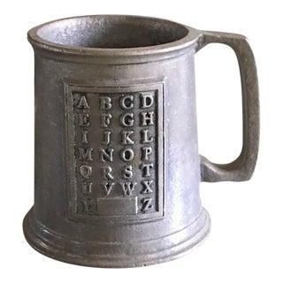 Vintage Child's Alphabet Mug