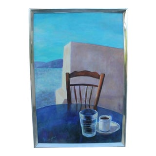 Abstract Table Still Life by Florence Friedman