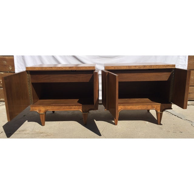 American Martinsville Mid-Century Side Tables Pair - Image 4 of 11