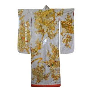 Japanese Kimono with Lucite Frame