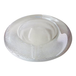 Kosta Boda Full Lead Crystal Ashtray
