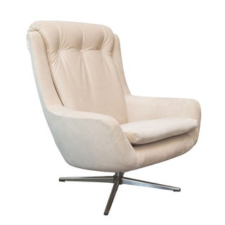 Vintage Danish Modern Swivel Lounge Chair