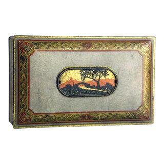 Vintage Southwestern Tin Box by Canco