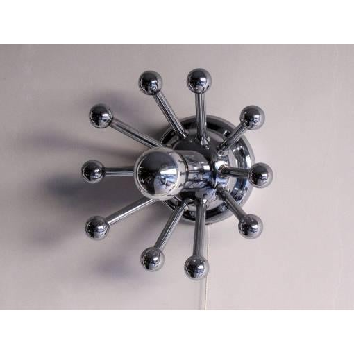 Sputnik Wall Lights - A Pair - Image 4 of 10