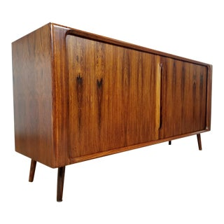 Bernhard Pederson and Sons Danish Rosewood Credenza