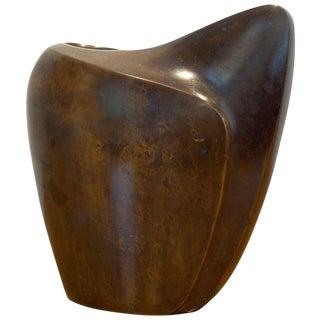 Modernist Japenese Bronze Vase