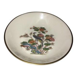 Wedgewood Bone China Kutani Crane & Floral Dish