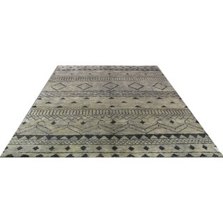 Indian Natural Hemp Rug - 8′ × 10′