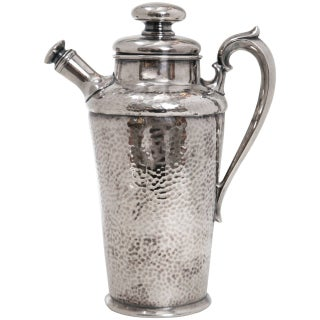 Early Hammered Surface Cocktail Shaker