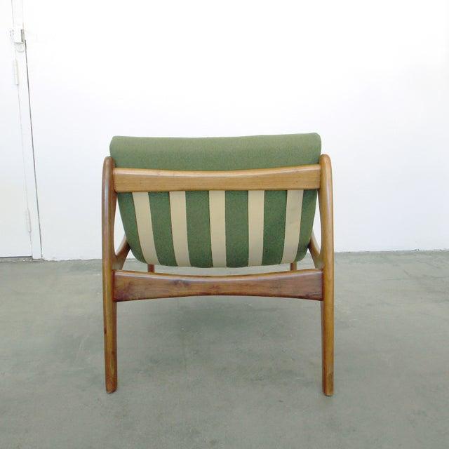 Italian Wood Sling Lounger - Image 5 of 9