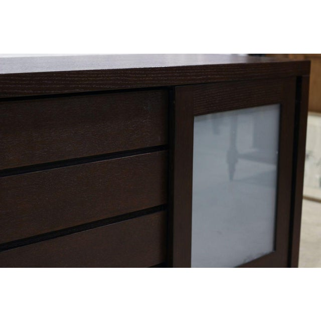 Image of Large Chest of Drawers With Sliding Doors