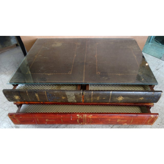 Old Coffee Table Books: Vintage Maitland-Smith Faux-Book Coffee Table