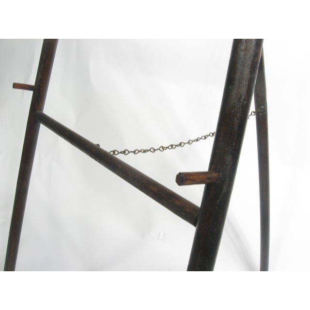 Image of Antique Wood Display Easel