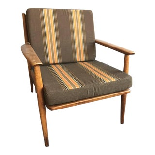 Baumritter Mid-Century Reupholstered Lounge Chair