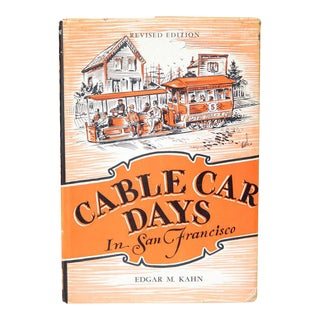 """Cable Car Days in San Francisco"" 1945 Book"