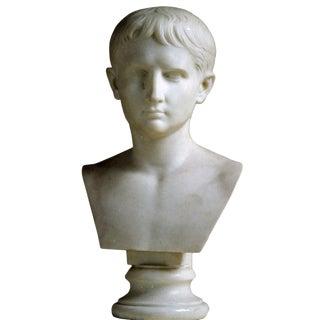 Italian Bust of Caesar Augustus, Ealry 19th c.