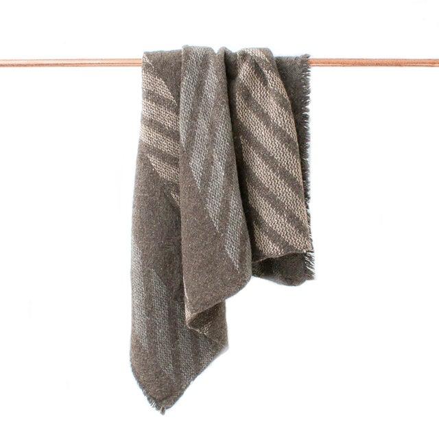 Handwoven Navajo Throw Blanket II - Image 2 of 3