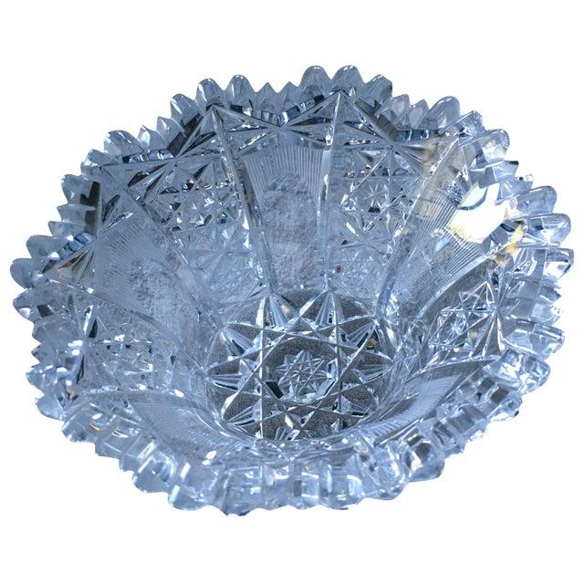 Vintage Crystal Bowl - Image 1 of 5