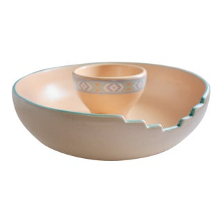 Southwestern Chip & Dip Bowl Set - A Pair