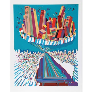"Risaburo Kimura, ""City 379,"" Serigraph"