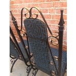 Image of Midcentury Spanish Revival Dining Chairs - Set of 6