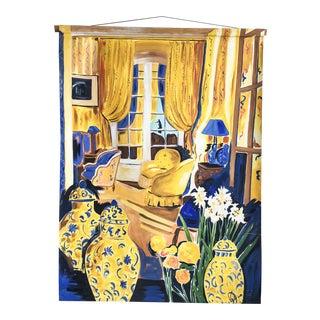 Extra Large French Salon Canvas Artwork