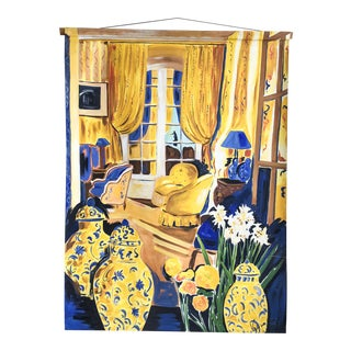 Extra Large French Salon Canvas Artwork