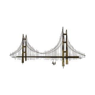 Curtis Jere Golden Gate Bridge Wall Sculpture
