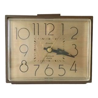 Westclox Vintage Bakelite Alarm Clock