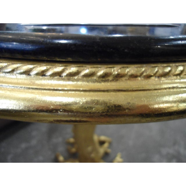 Image of Gold Leaf Root Side Table