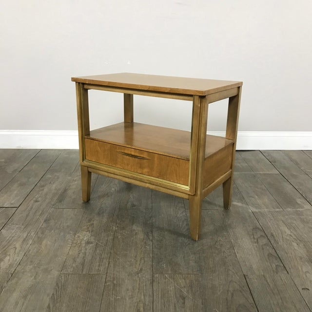 Image of Mid Century Nightstands - a Pair