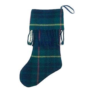 Scottish Tartan Christmas Stocking